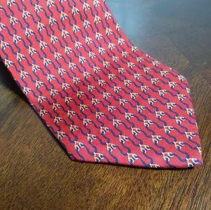 Jos A. Bank Designer Tie  Silk Necktie